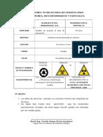 Especificaciones Tecnicas Para Recipientes Para Recipientes - Tachos