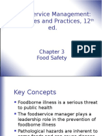 Chapter 3 Food Safety