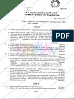 Hydrology Waterresource Engineering Dec08 Jan09
