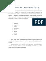 Factores de Distri en Planta