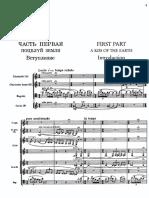 Stravinsky - Rite Of Spring Orchestral Score