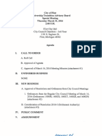 Receivership Transition Advisory Board emergency amendment