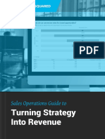 Sales Ops Strategy to Revenue Guide