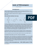 Synthesis of Nitrazepam