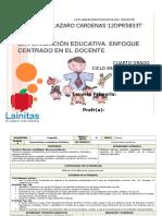 Plan 4to Grado - Bloque 4 Geografía (2015-2016)