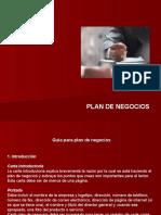 Guia Plan de Negocios