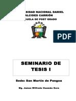 Módulo de Seminario de Tesis