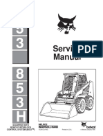 Bobcat 853 Service Manual Sn 512816001 Up Sn508418001 Up Sn 509718001 Up