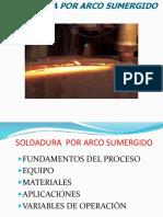 5.- Soldadura Arco Sumergido (Saw)