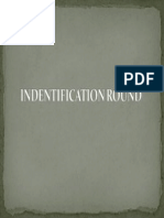 Textile Quiz-Indentification Round