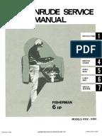 johnson hp outboard service manual pdf electrical evinrude fisherman 6hp outboards service manual 4746 pdf