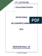 Apostila - Estruturas de Concreto Armado - Notas de Aula 2