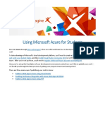 1651.Using Microsoft Azure for Students