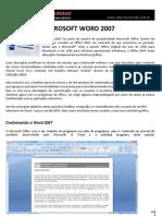WORD 2007 - Menus, recursos e teclas de atalho