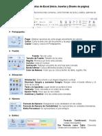 Barras de Herramientas de Excel