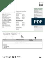Dse892 Data Sheet