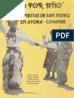 Las Fiestas de San Pedro en Ayora Cayambe