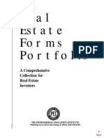 Real Estate Forms Portfolio