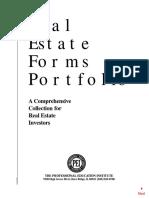 Real Estate Forms Portfolio