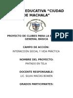 Proyecto Telas Pintadas