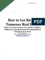 How to Get Rich in Real Estate - Vena Jones Cox