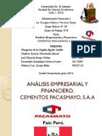 Expo Administración Cemento Pascayo ,SAA