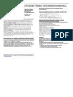 INSTRUCCION de MONTAJE Bomba de Alta Presion Teamec 874801 1
