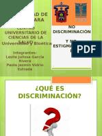 No Discriminacion y No Estigmatizacion
