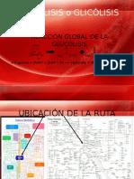 Glucólisis o Glicólisis Presentacion Prof.
