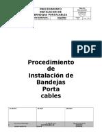 Proc. Instalacion Bandejas Portacables EC PCD 016 (1)