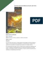 Resumen de El Faro Del Fin Del Mundo, Del Autor Julio Verne