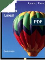 Fundamentos de Algebra Lineal Falvo y Larson Falvo 6ta. Edicion