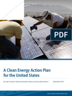 A Clean Energy Action Plan for the United States