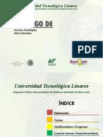 Catálogo de Servicios Tecnológicos UTL