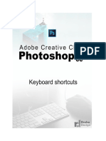 Adobe Photoshop CC 2015.5 Keyboard shortcuts