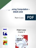 Engineering Computation Course 4