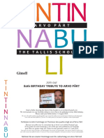 Arvo Pärt - Tintinnabuli - Booklet
