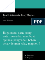 Bab 9 Antarmuka Relay Magnet