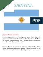 Trabajo Ingles Argentina