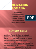Civilizacion Romana PPT