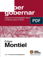 Saber Gobernar Edgar Montiel