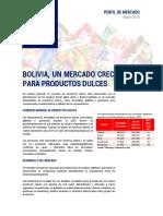Perfil Mercado Dulces Bolivia