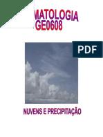 Nuvens e Precipitação