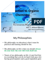 Introduction to Organic Chemistry Unit 2