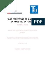 Los Efefectos de Las Tic Luis Camacho