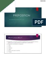 PREPOSITION Bahasa Inggris 1 PDF