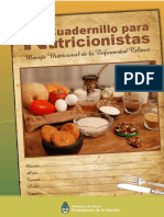 Cuadernillo Para Nutricionistas 2016