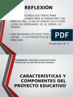 Características y Componentes Del Proyecto 3