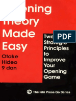 [Go Igo Baduk Weiqi] [Eng] Openig Theory Made Easy - Otake Hideo