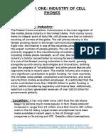 literature review mobile phones
